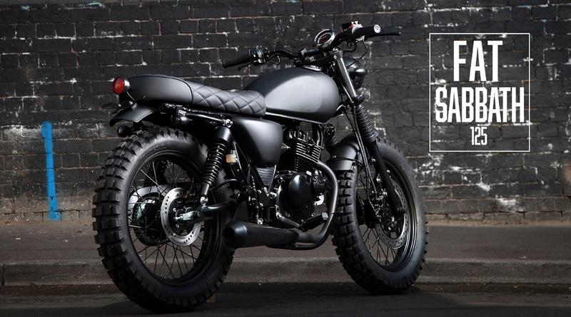 "The ""Fat Sabbath"" from Mutt Motorcycles"
