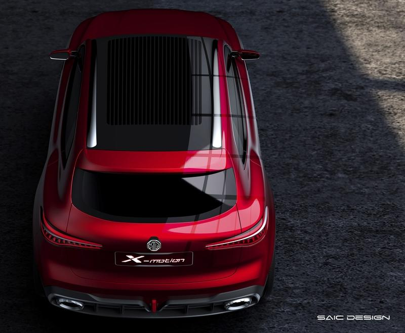 The MG X-Motion Concept Looks Like the Offspring of a Mercedes GLC and a Mazda 6 Exterior - image 778522