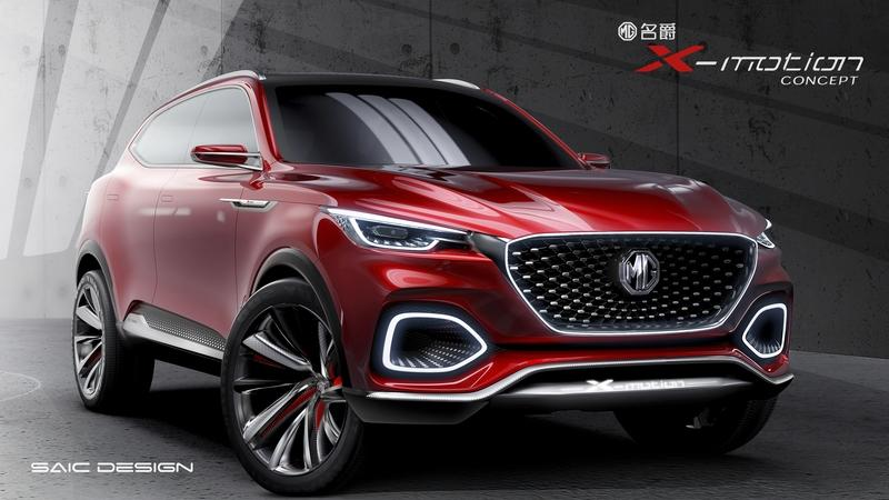 The MG X-Motion Concept Looks Like the Offspring of a Mercedes GLC and a Mazda 6 Exterior - image 778520