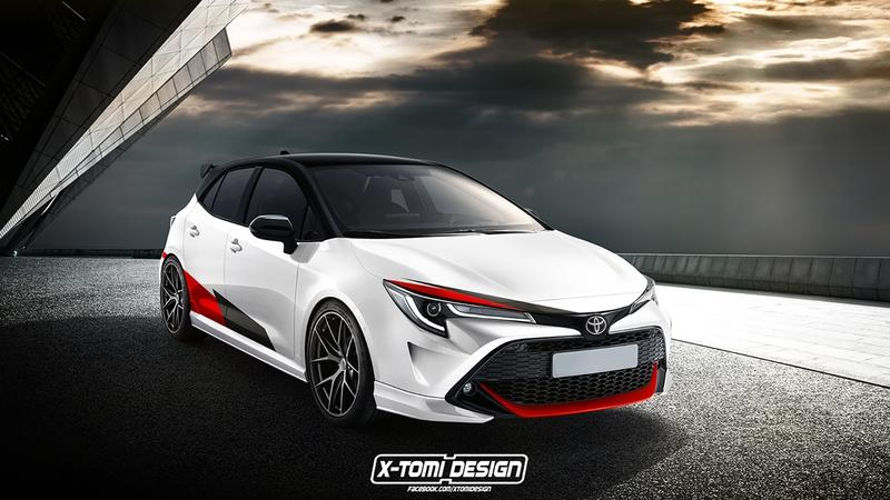 In Just a Couple of Years A High-Performance Toyota Corolla Hatch could Take on the Civic Type R and VW Golf R in the U.S.