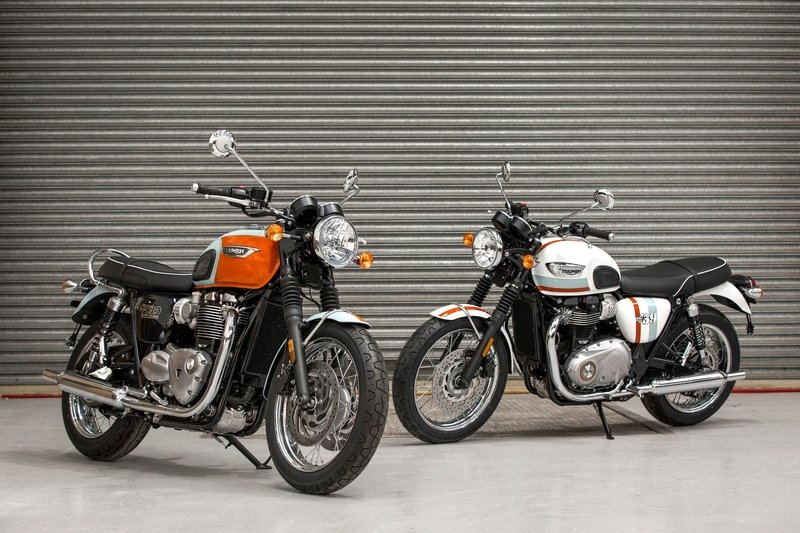 Triumph celebrates the Spirit of '59 with these limited edition Bonnevilles
