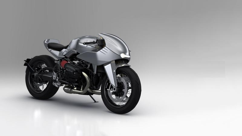 Dab Designs 'Enhanced Racer' bolt-on custom kit for the BMW R nineT