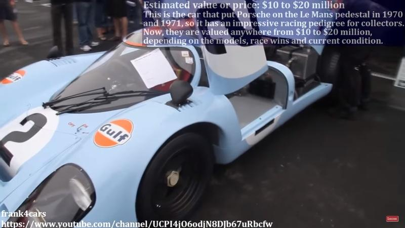 Video if the Day: 9 Rarest Cars and Their Price Tags