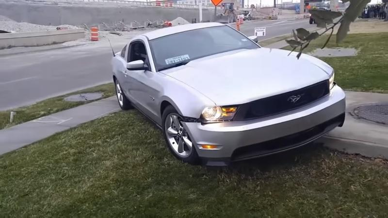 Video of the Day: Epic Mustang Fails