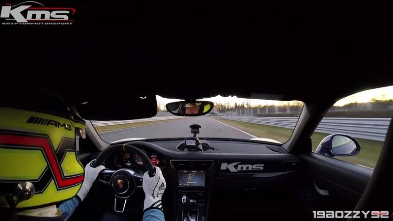 Video of the Day: On-Board a Porsche 911 GT3 RS Tackling the Monza Circuit