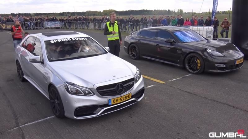 Video of the Day: Porsche Panamera Turbo S vs Mercedes-AMG E63S