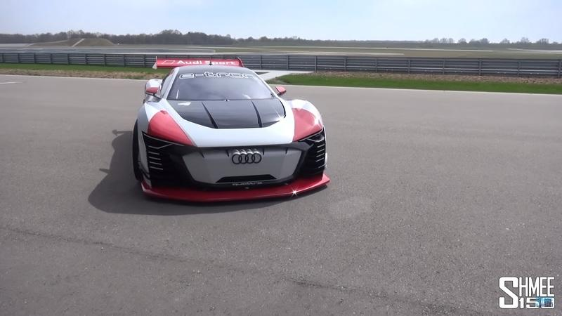 Video of the Day: Shmee Drives the Audi E-Tron Vision Gran Turismo
