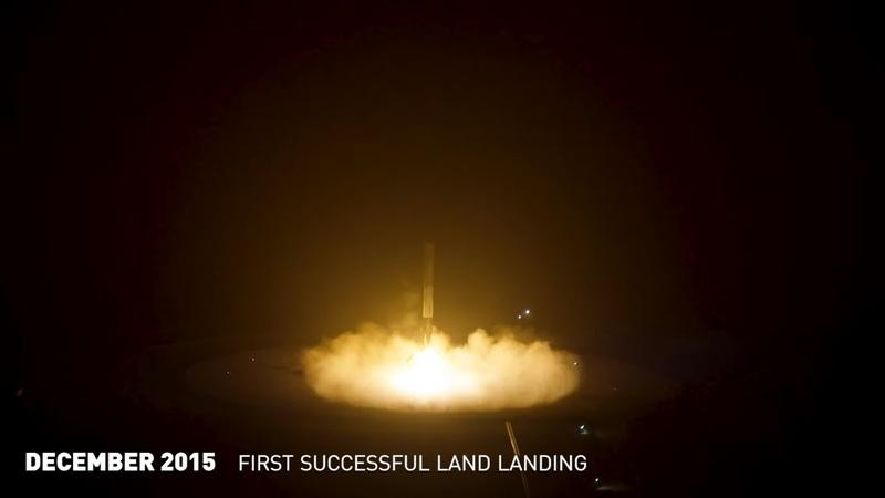 Video of the Day: SpaceX Orbital Rocket Booster Landing Fails Compilation