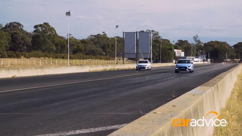 Video of the Day: Volkswagen Gold GTi vs Hyundai I30 N