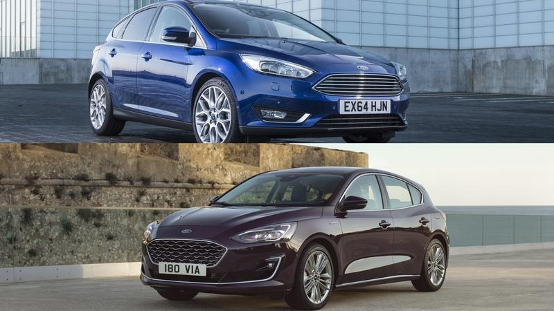 Visual Comparison: 2018 Ford Focus vs 2019 Ford Focus