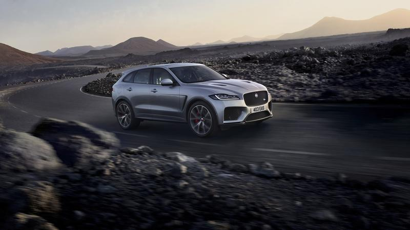 Wallpaper of the Day: 2018 Jaguar F-Pace SVR