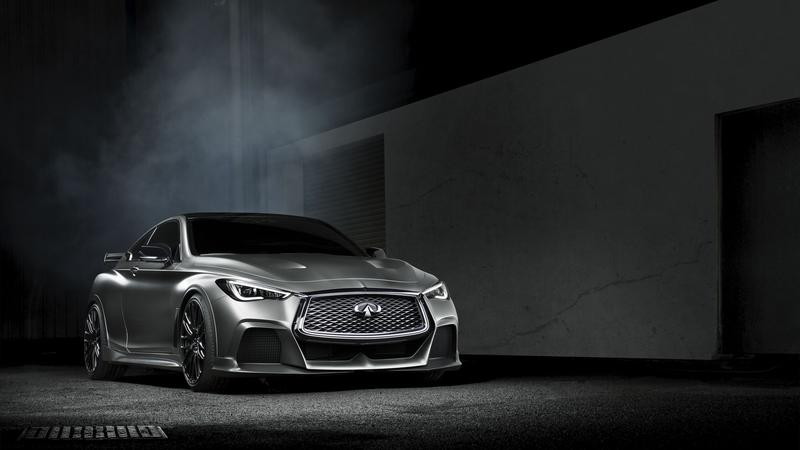 Wallpaper of the Day: 2016 Infiniti Project Black S