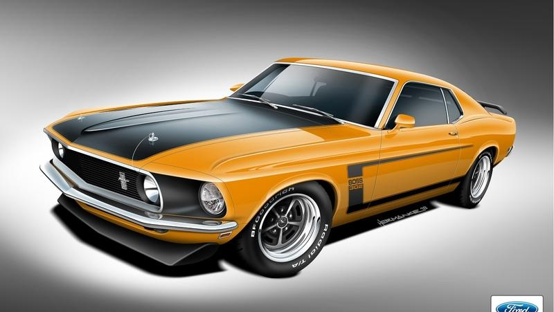 Want a Real, 1969 - 1970 Ford Boss 302, Boss 429, or Mach 1 Mustang? You Can Get a Fully Licensed Model Thanks to Classic Recreations