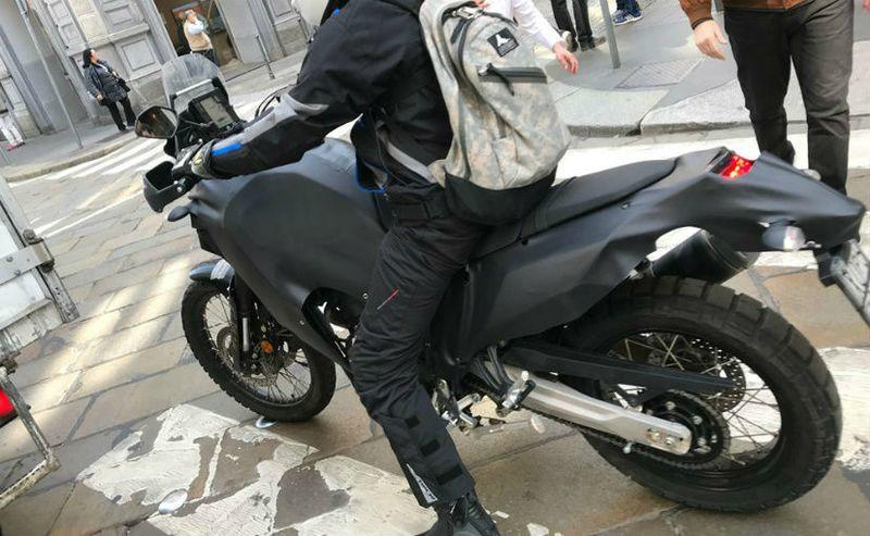 Yamaha's new Tenere 700 ADV machine snapped testing in Europe