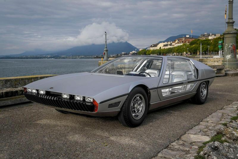 1967 Lamborghini Marzal concept will be driven in public for the first time since 1967