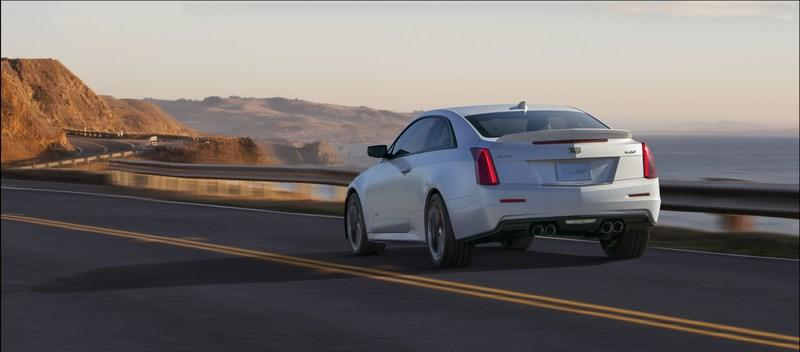 Wallpaper of the Day: 2016 Cadillac ATS-V Coupe