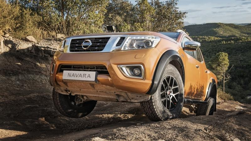 2018 Nissan Navara Off-Roader AT32