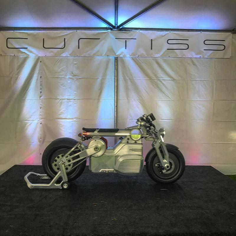 Curtiss Motorcycles finally showcase the