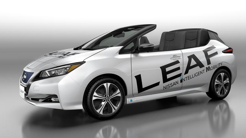 A Roofless Nissan Leaf has Made Its Debut, and It's Mesmerizingly Ugly
