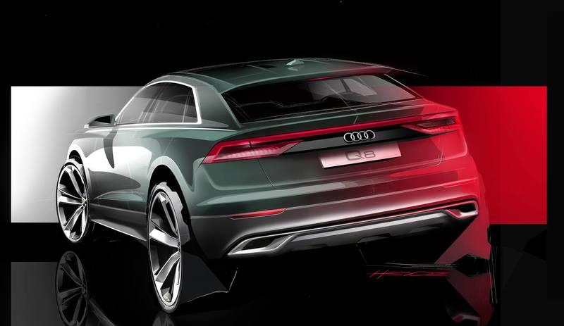 Audi Teases The Q8 With New Rendering And Video Series Trailer