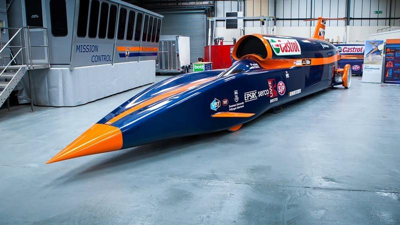 Bloodhound SSC To Make First Speed Record Attempt in 2019