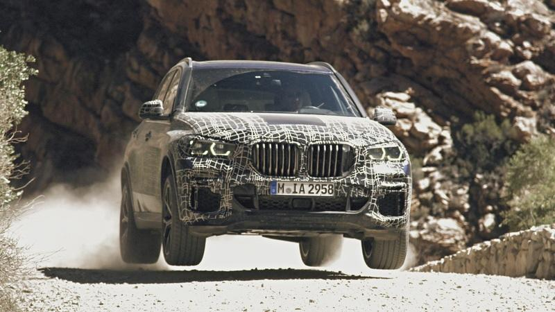 BMW Drops Official Spy Shots of the Next X5 Testing In Off-Road Conditions