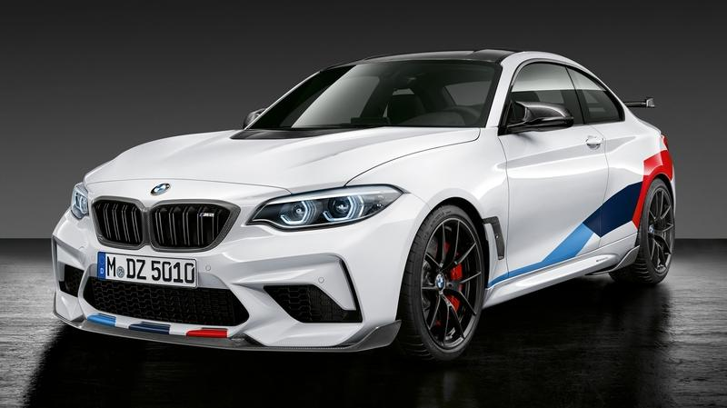 BMW M2 Competition Gets M Performance Parts