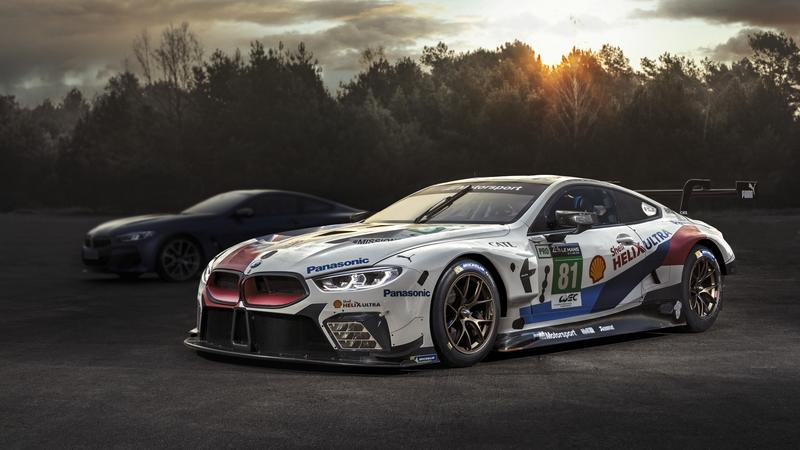 BMW Will Debut the Production Version of the 8 Series Coupe at the 24 Hours of Le Mans