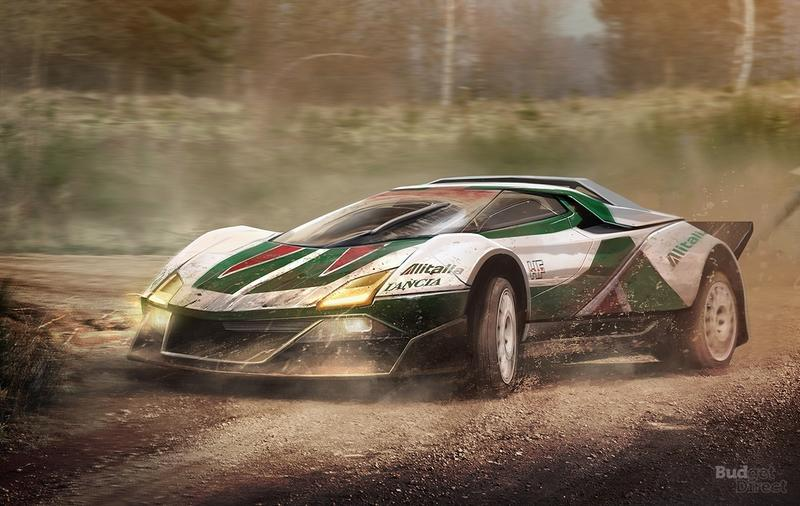 Budget Direct Renders 8 Classic Race Cars In Modern Form