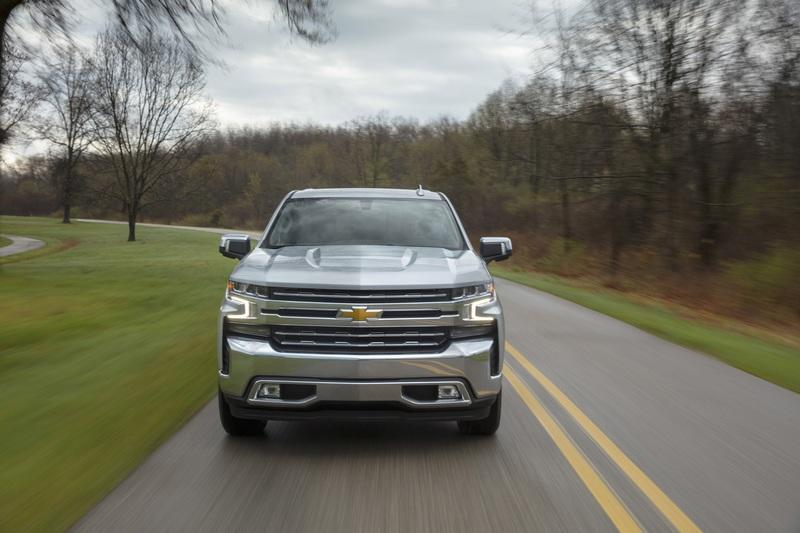 For the First Time Ever the Chevy Silverado Will Be Offered with a Four-Cylinder Engine