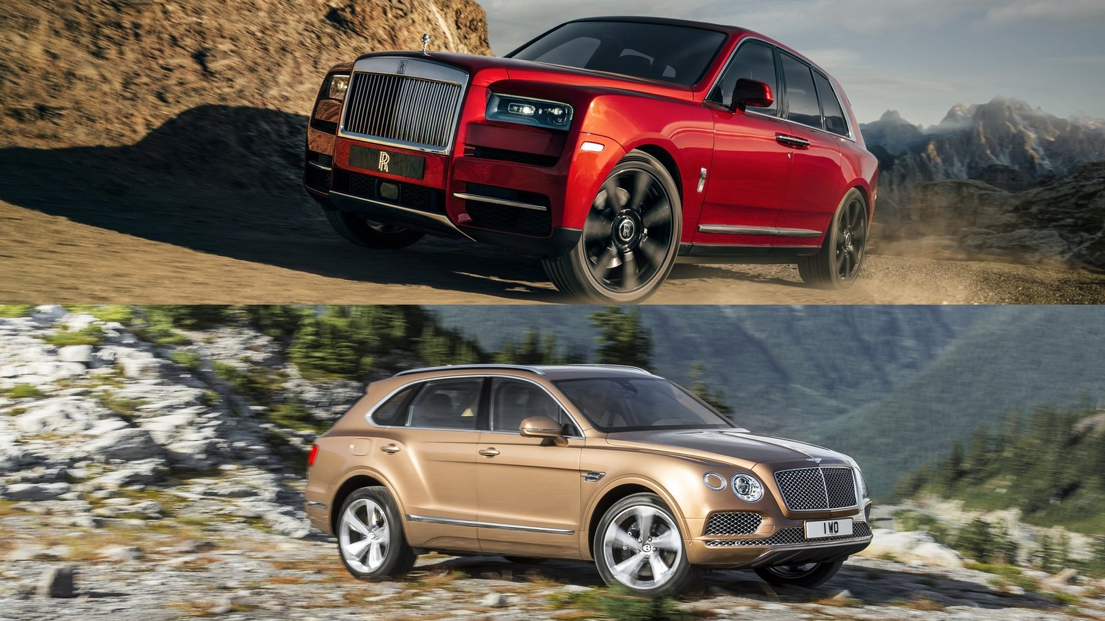 Comparison 2018 Bentley Bentayga Vs 2019 Rolls Royce