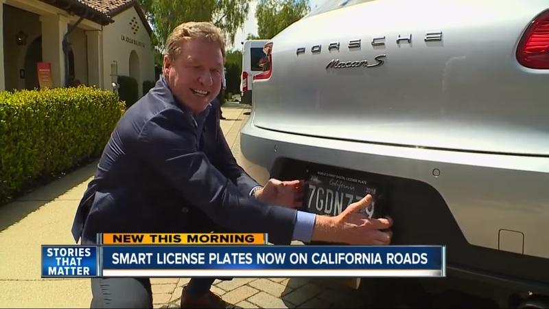 Digital License Plates Are Now a Real Thing in California