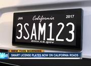 Digital License Plates Are Now a Real Thing in California - image 781751