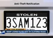 Digital License Plates Are Now a Real Thing in California - image 781753