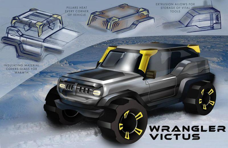 High School Visionaries Render the 2030 Jeep Wrangler - image 780834