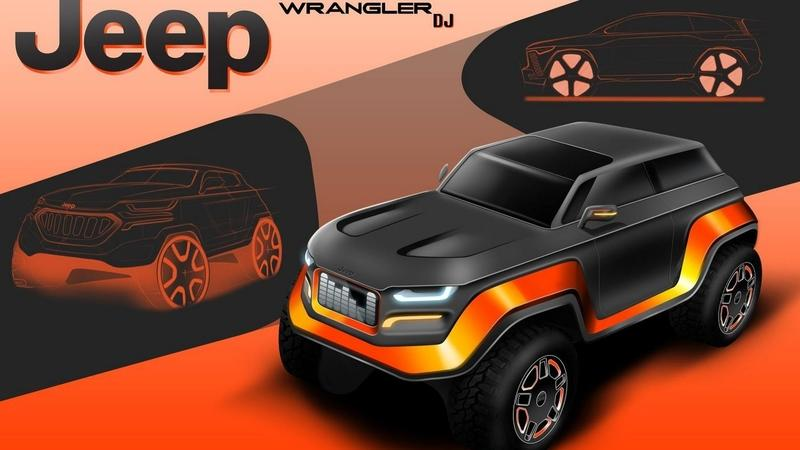 High School Visionaries Render the 2030 Jeep Wrangler