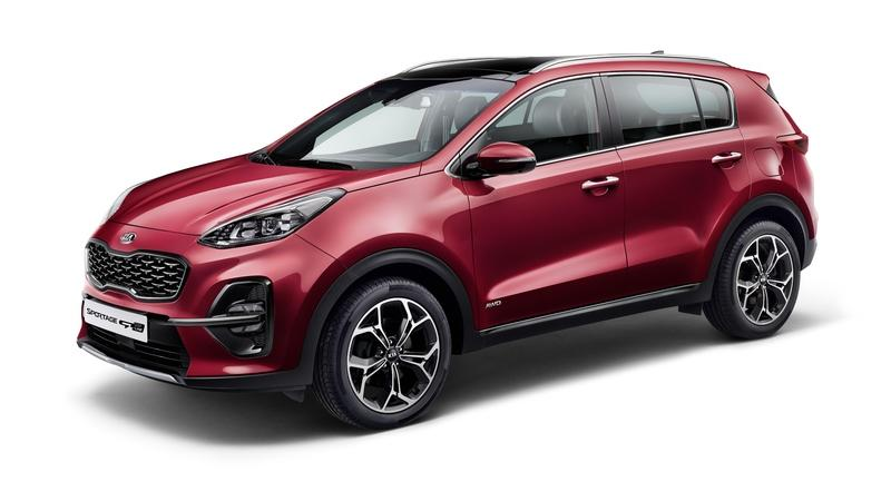 "Kia Has Debuted a ""Facelifted"" Sportage For Europe, but it's the Mild Hybrid Drivetrain that Matters"