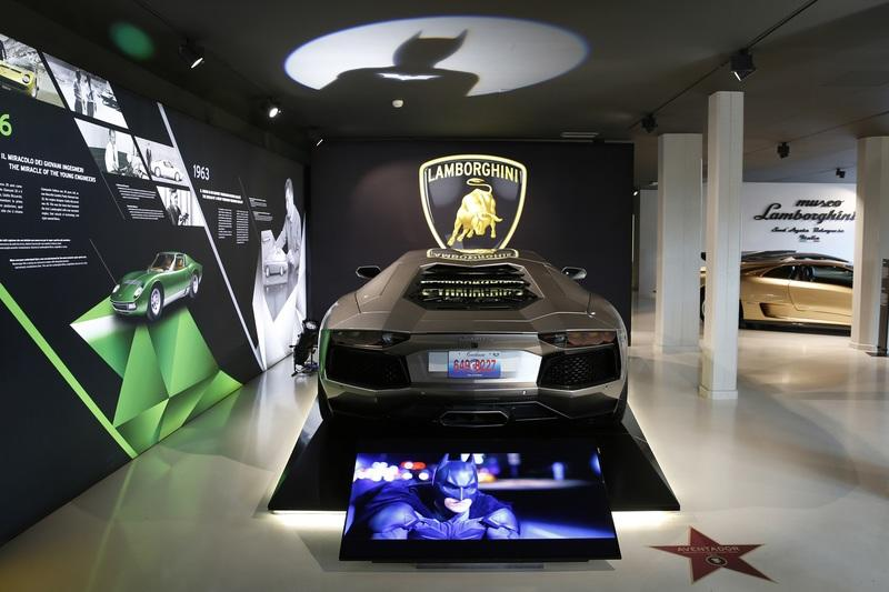 Lamborghini's Hollywood Cars Are Now On Display in Its Headquarters
