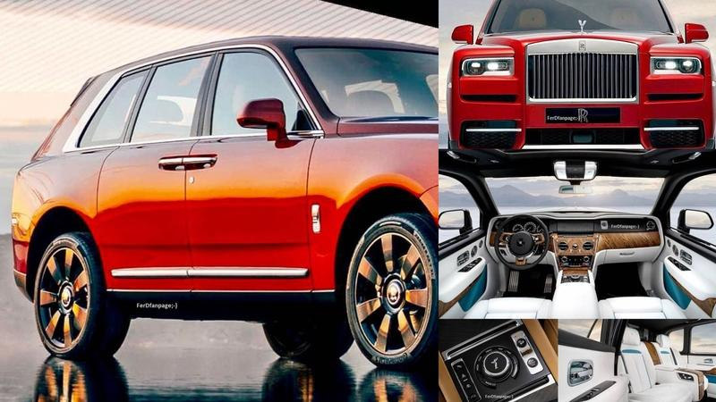 Leaked Images Show that the Rolls-Royce Cullinan Doesn't Far Fall From the Phantom Tree