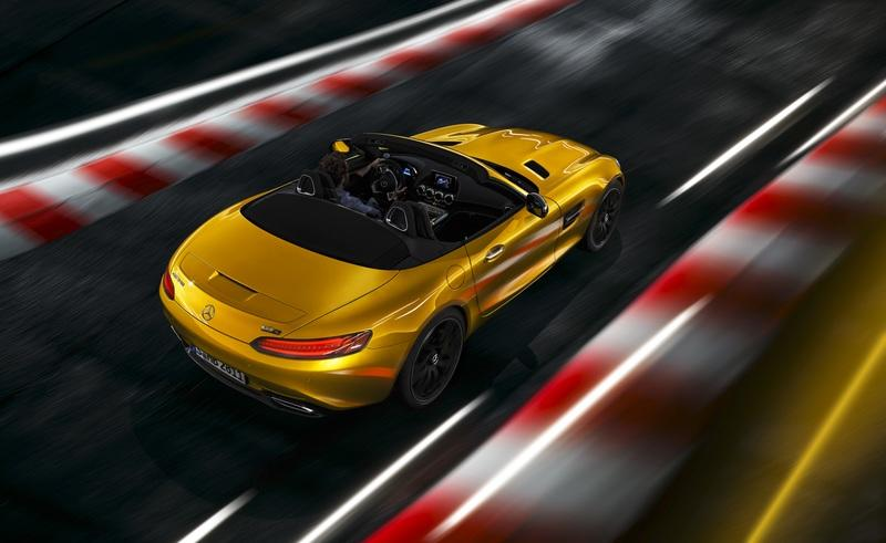 2019 Mercedes-AMG GT S Roadster Exterior Wallpaper quality - image 780350