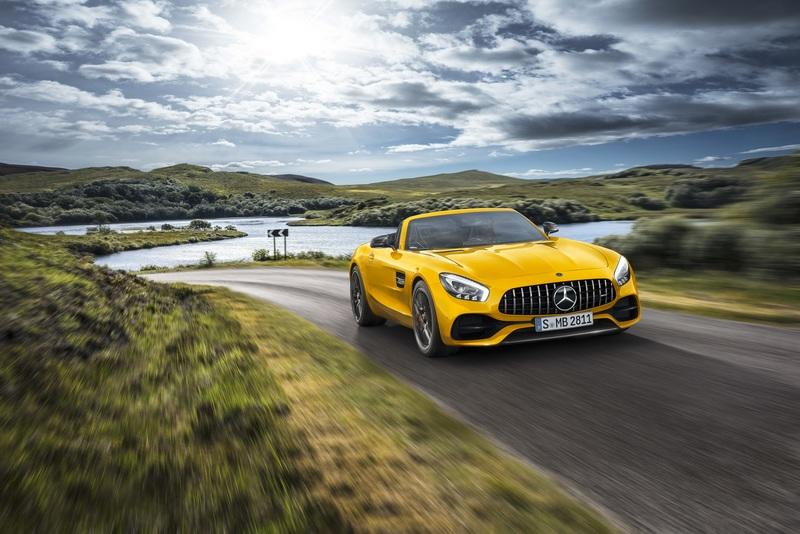2019 Mercedes-AMG GT S Roadster Exterior Wallpaper quality - image 780353