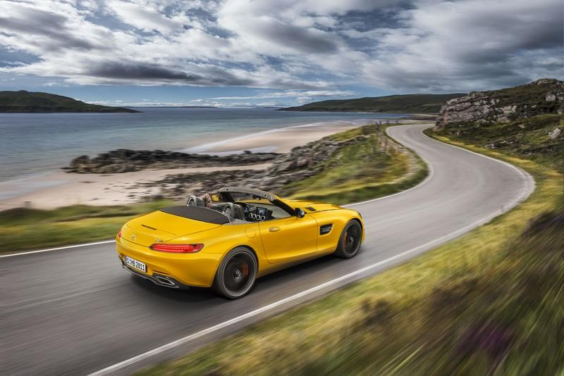 2019 Mercedes-AMG GT S Roadster Exterior Wallpaper quality - image 780354
