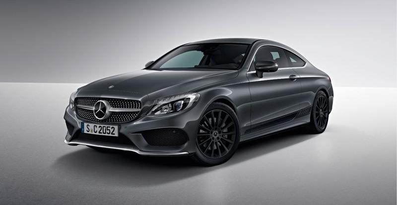 Mercedes C-Class Gets New Nightfall Editions