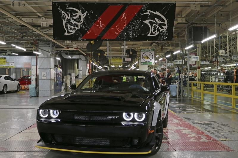 Watch Dodge Give Birth to the Last Dodge Challenger SRT Demon