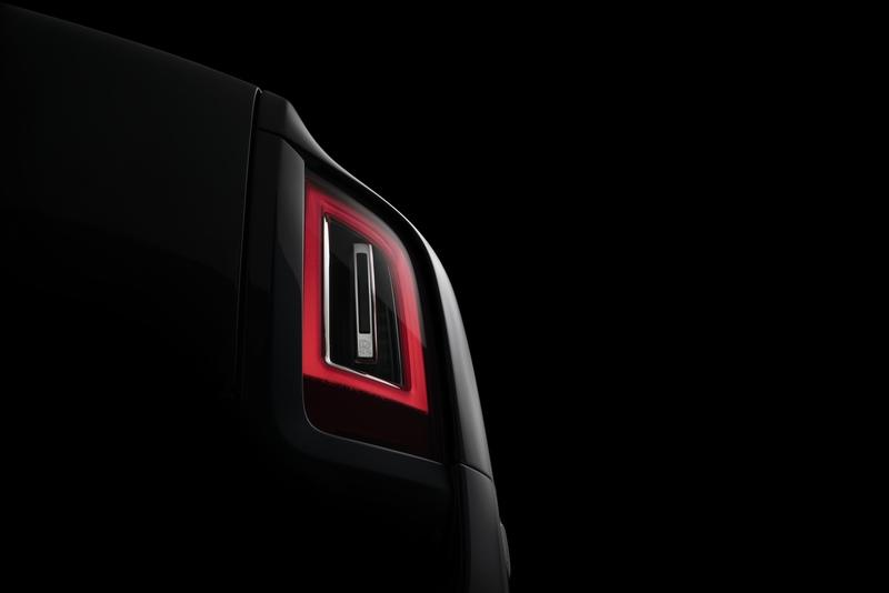 Rolls-Royce Teases the Cullinan's Production Taillight