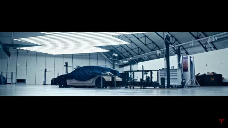 Tesla Teases Model Y In Fast-Paced Video
