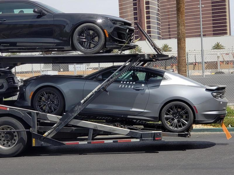 The 2019 Chevy Camaro ZL1 was Spotted in Vegas but it Wasn't Playing Slots