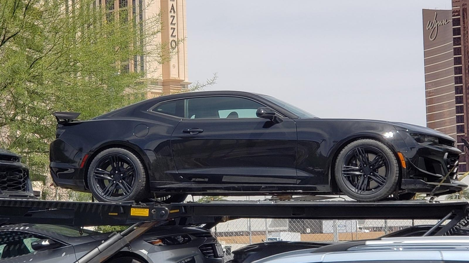 The 2019 Chevy Camaro ZL1 Was Spotted In Vegas But It Wasn ...