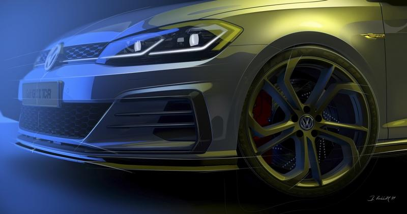 The Volkswagen Golf GTI TCR Will Bridge the Big Gap Between the Golf GTI and Golf R