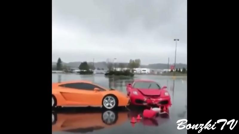 Video of the Day: Best Supercar Show Off Fail Compilation